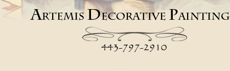 Artemis Decorative Painting